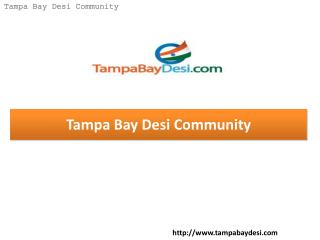 Tampa Bay Desi Community