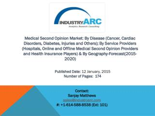 Medical Second Opinion Market: high potential in APAC owing to high population and upsurge in healthcare.