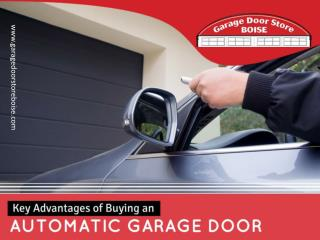 The Advantages of Garage Door Repair in Boise