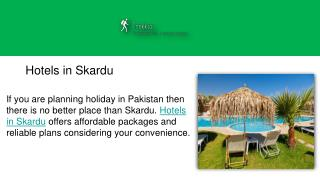 Hotels in Skardu - Trekkso