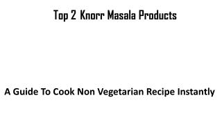 knorr top non veg product