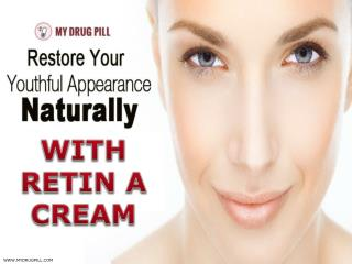 Buy Retin a cream online for Atopic Eczema & Acne Problem