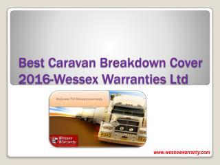 Best Caravan Breakdown Cover 2016-Wessex Warranties Ltd