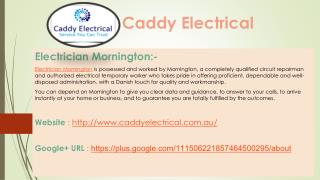 Caddy Electrical