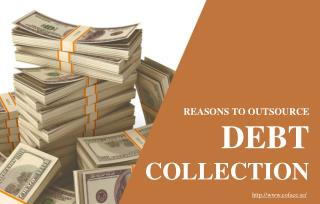 Benefits of outsourcing debt collection activities