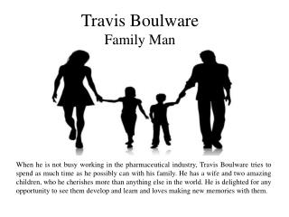 Travis Boulware - Family Man