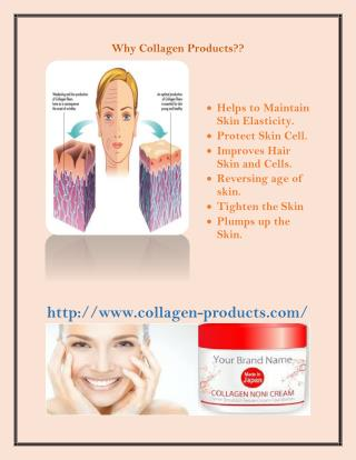 Why collagen products