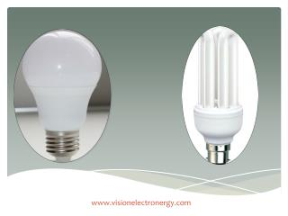 LED lighting product manufacturers: Vision Electronergy