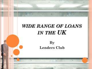Apply Online for Loans