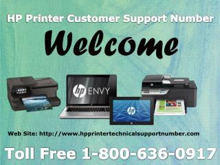 HP Tech Support Number 1-800-636-0917