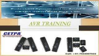 AVR TRAINING
