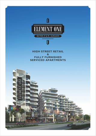 Element One - The Project by Satya Group