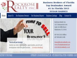 Business brokers for buying and selling your small businesses in Florida