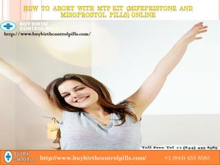 Order MTP Kit Mifepristone and Misoprostol Pills in USA