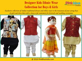 Traditional Indian Outfits for Boys and Girls