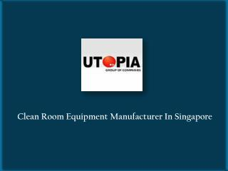Cleanroom Products Manufacturer