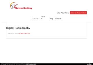 Digital Radiography by Florence Dentistry