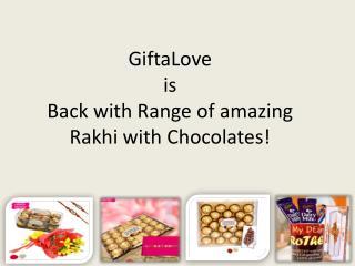 Rakhi with Chocolates | 011 66765500 | Giftalove