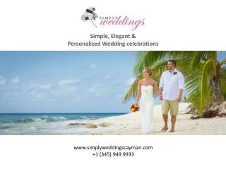 Planning an Elegant Cayman Wedding? Read More!