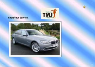 Chauffeur services for new comer