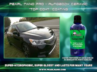 Pearl Nano Coatings Protect Your Car Paint.