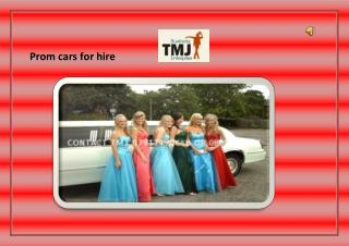 Prom car hire London