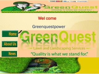 fairfield landscaping at greenquestpower.net