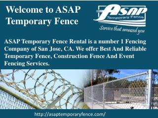 Fence Rental San Jose
