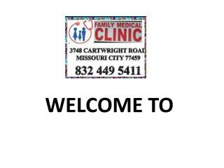 Doctor Clinic in Sugar Land