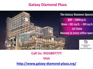 Galaxy Diamond Plaza best payment plan
