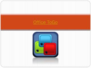 Office ToGo for iPhone & iPad