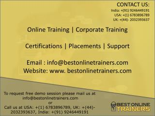 IT Software Training  Online _bestonlinetrainers.com
