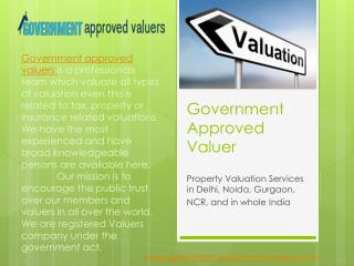 machinery and plant valuers