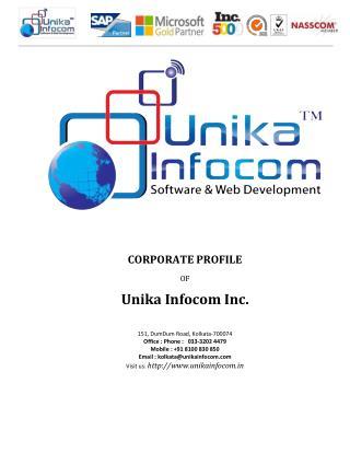 Unika Infocom Corporate Profile