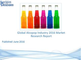 Worldwide Alcopop Industry- Size, Share and Market Forecasts 2021