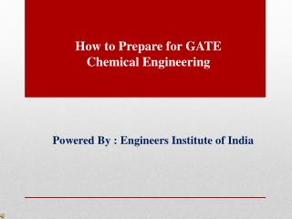 Best Coaching GATE Chemical in Delhi