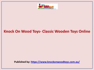 Knock On Wood Toys