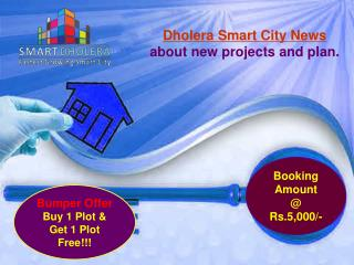 Dholera Smart City News