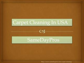 Why You Need Carpet Cleaning Services at your home or office