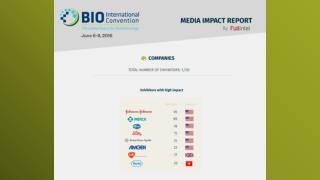 BIO International Convention - Media Impact Report by FullIntel
