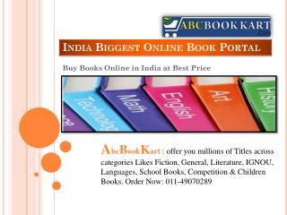 Best Online Books Shopping sites