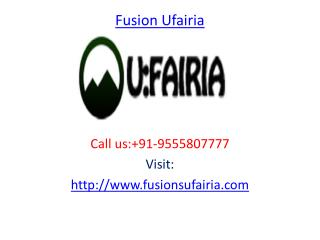 Fusion Ufairia Commercial project Greater Noida West