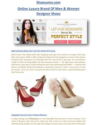 Shoesumo.com - Shoe Sumo Online Designer Shoes Store