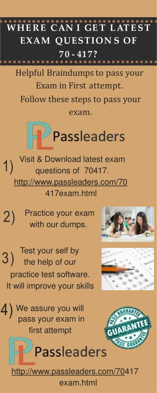 Passleader 70-417 VCE