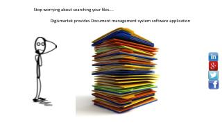 Why you  need Document management system software application to your organisation