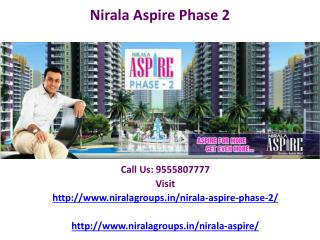 Nirala Group residence is Nirala Aspire phase 2