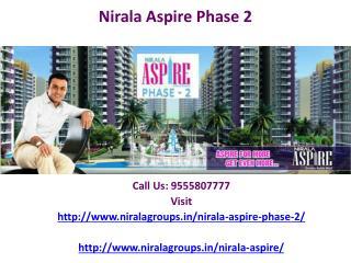 Nirala Group residence is Nirala Aspire phase 2