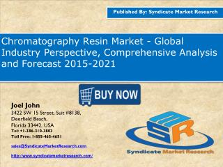 Chromatography Resin Market - Global Industry Perspective, Comprehensive Analysis and Forecast 2015-2021
