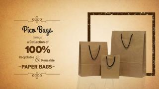 Pack Your Gift with Pico Bags