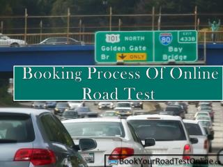 Booking Process Of Online Road Test